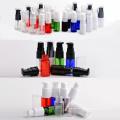 Light Black Plastic Pet Cosmetic Bottle with Pump (NB08)
