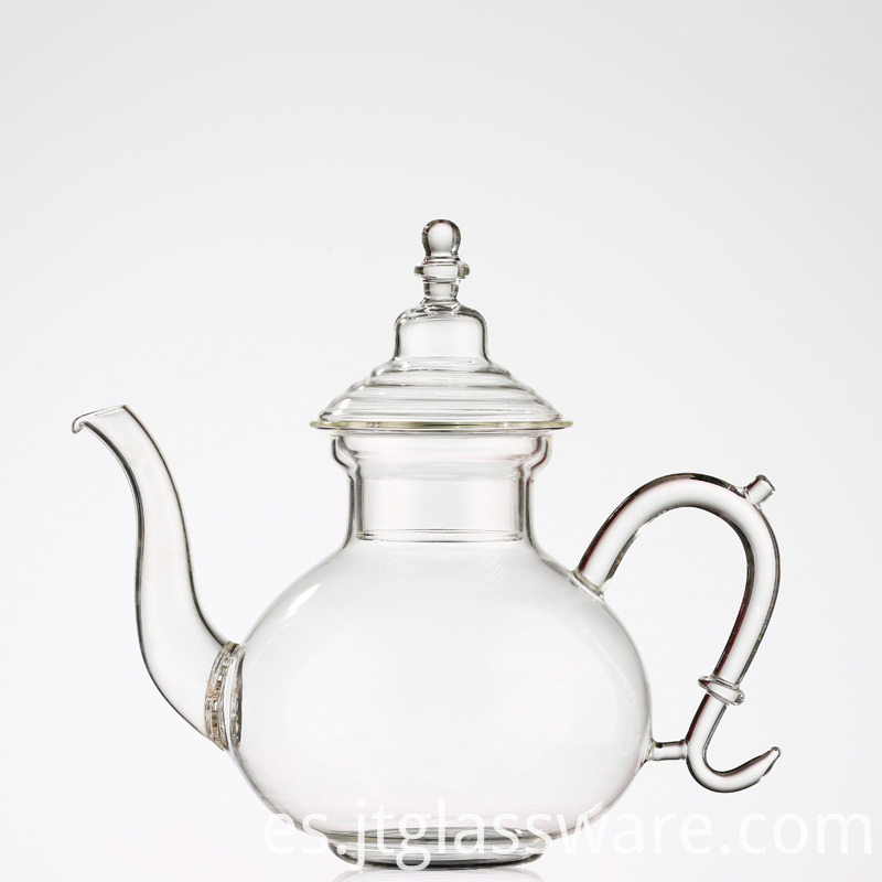 Glass Teapot with Heat Resistant Borosilicate