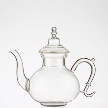 Glass Teapot Stainless Steel Infuser Teapot for Iced Tea