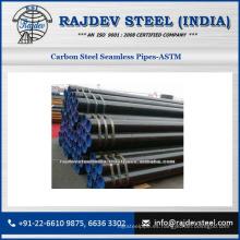 Tubos sin costura de acero al carbono de alta calidad ASTM A106 GR B a muy bajo rango