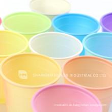 Meistverkaufte klare Plastikbecher für Wasser Einweg-Kunststoff-Dentalbecher