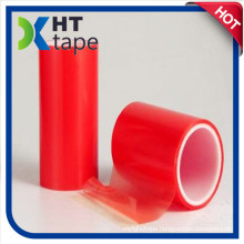 Double Side Red Liner Clear Polyester Film Acrylic Adhesive Polyester Tape