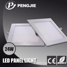 Lumière de panneau de plafond de RVB LED 24W SMD2835 pour l'éclairage à la maison