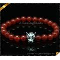 Gemstone Bracelets Fashion 8mm Round Agate Jewelry Bracelet (CB0106)