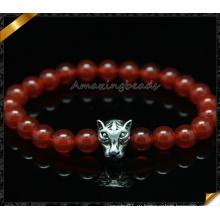 Браслеты Gemstone Мода 8мм Круглый браслет ювелирных изделий агата (CB0106)