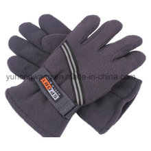 Venta al por mayor de hombres polares fleece guantes / mitones