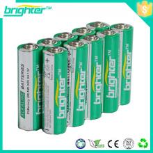 Bateria lr6 com painel solar