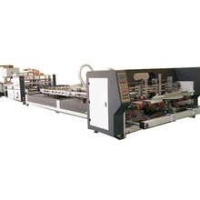 Hot sale automatic corrugated cardboard box stitching& gluing machine