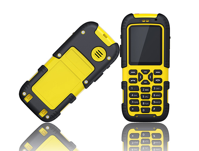 SIP WIFI Phone-yellow