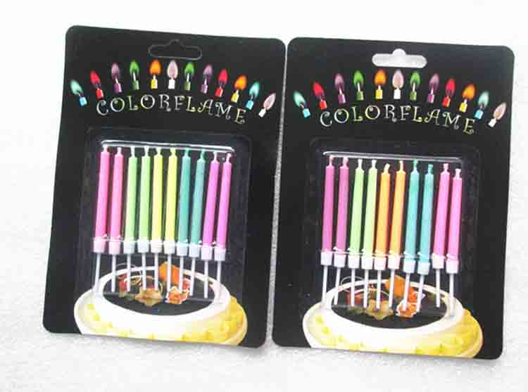 Color Flame Candle 3