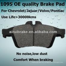 D1095 Pastilla de freno para Chevrolet Cobalt 2010 R Auto Parts