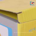 cajas de papel de embalaje de fideos chinos personalizados con ventana