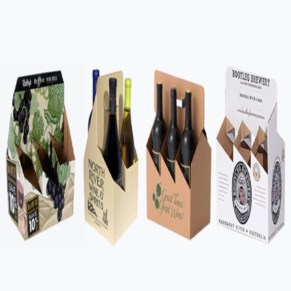 beer-bottle-carrier-box-Corrugated Carrier