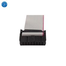 Custom 16 Ways 1.27mm Flat Ribbon Cable with IDC 2.54mm Socket