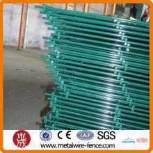 PVC pintó la cerca doble del acoplamiento de alambre (fábrica)