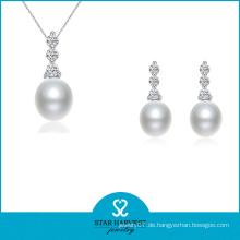 Neue bunte brillante Perle Schmuck-Set für die Braut (J-0180)