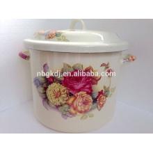enamel stock pot of special design &cooking pot