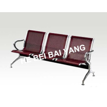 Plastic-Sprayed Waiting Chair with Punched Steel Plate