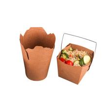 Boîte à lunch en papier pour nouilles rondes