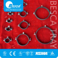 Hot Sale IPC Besca Insulated Pipe Clamps With Rubber