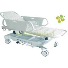 Hydraulische Trage für den Patiententransport