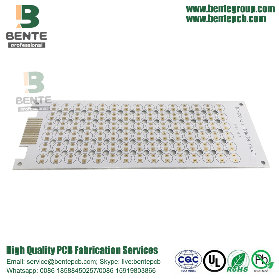 Lichtgevende LED-lamp 1 Layer Aluminium PCB