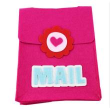 Presente e artesanato, mochila infantil flor fuzzy, mochila infantil