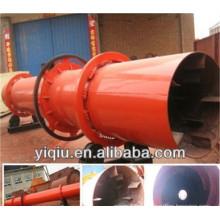 Calcium carbonate in rotary drum dryer
