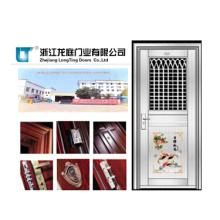 2015 venta caliente puerta de acero inoxidable sin costura
