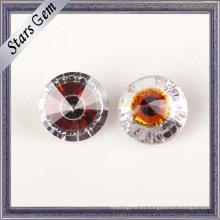 Estilo de la moda de alta calidad multicolor cubic zirconia piedras preciosas