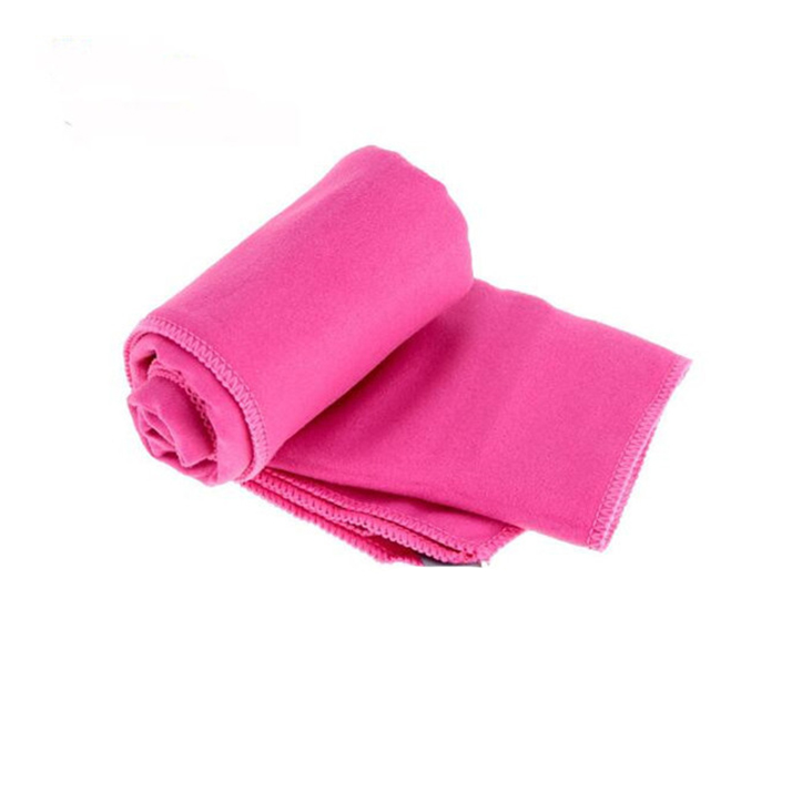 customized logo suede towel