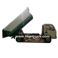 Camión volquete de basura Dongfeng 6 metros cúbicos