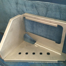 Stempelnteil Alumium, perforierte genaue CNC-Maschinerie, kundengebundene industrielle Fertigung
