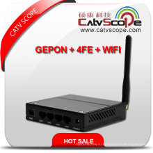 Профессиональный поставщик Black High Performance WiFi & 4fe Triple Play Gepon Ont / ONU