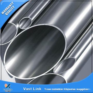Tubo decorativo de aço inoxidável de boa superfície ASTM A554 Tp201