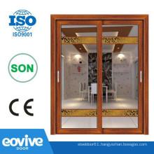 Aluminium profile balcony french doors