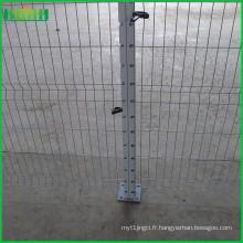 Prix d'usine bon marché et fin 5x10cm clôture en treillis métallique soudé