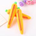 Estuche de lápices de silicona escolar creativo personalizado para niños