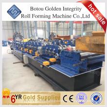 QC300 C / Z Purlin Line Roll formando máquina