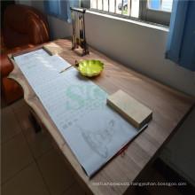 Black Walnut Solid Wood with Live Edge Used on Living Room Coffee Table