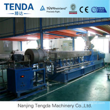 Granulating Rubber Twin Screw Extruder Machine