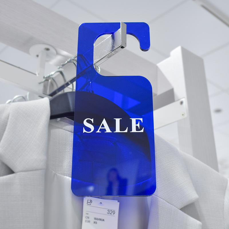 Acrylic Sale Signs For Retail Store