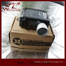Lecteur de vitesse tactique Airsoft chronographe Chronoscope X3200 de chasse