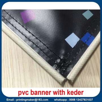 Banner per display flessibile in vinile PVC con bordi Keder
