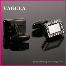 VAGULA nouvelle arrivée en laiton boutons de manchettes (L51508)