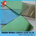 Verre réfléchissant unidirectionnel vert foncé avec l'épaisseur 4-6mm
