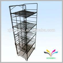 Los minoristas más nuevos de la venta caliente de la alta calidad general almacenan el soporte de exhibición del metal para la publicidad