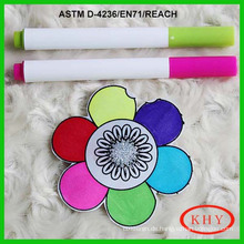 Washable Textile Marker Pen for Children Use