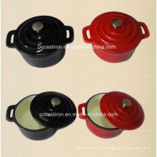 Casserole Mini cocotte à l'émail fabriqué en Chine