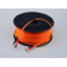Alta qualidade passar 3D teste fc duplex multimodo 62,5 / 125 50/125 100 m comprimento fibra óptica cabo de remendo